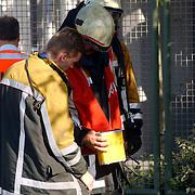 Gas lekkage bij BNI Huizen, inspectie explosiemeter