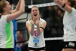 20190131 NED: Semi Final Cup Sliedrecht Sport - Eurosped, Sliedrecht <br />Vera Mulder (8) of Team Eurosped Twente<br />©2019-FotoHoogendoorn.nl / Pim Waslander