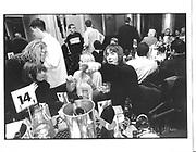 Liam Gallagher and Patsy Kensit. Q Awards. Park Lane Hotel. London. 8 Nov 1996. © Copyright Photograph by Dafydd Jones 66 Stockwell Park Rd. London SW9 0DA Tel 020 7733 0108 www.dafjones.com