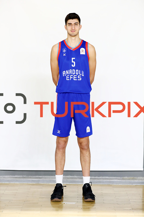 Anadolu Efes's Tarık Sezgun during the 2020-2021 Garanti BBVA BGL Media Day at the Anadolu Efes Sports Hall on February 02, 2021 in İstanbul, Turkey. Photo by Aykut AKICI/TURKPIX