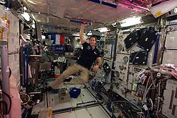 French cosmonaut Thomas Pesquet, takes photos on board International Space Station, on November 26, 2016. Photo by ESA via Balkis Press/ABACAPRESS.COM