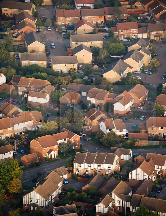 ©London News pictures...  .Generic property file picture of housing in the South East of England.