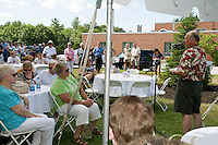 Franklin Regional Hospital celebrates 100 year anniversary on the front lawn Franklin, NH.