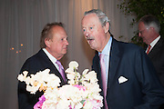 IAN BOND; THE DUKE OF MARLBOROUGH, The Cartier Chelsea Flower show dinner. Hurlingham club, London. 20 May 2013.