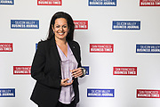 Katy Motiey of Extreme Networks, Inc. poses for a photo during the Bay Area Corporate Counsel Awards at The Westin San Francisco Airport in Millbrae, California, on March 18, 2019. (Stan Olszewski for Silicon Valley Business Journal)