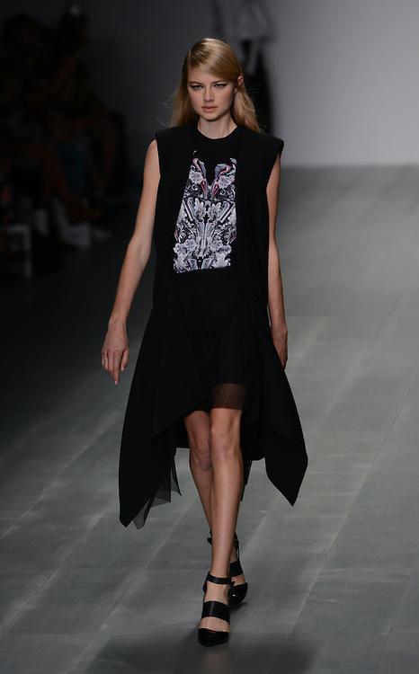 Jean Pierre Braganza fashion show during London Fashion Week SS 2015. 12/09/2014 London, UK. credit: Anne-Marie Michel