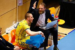 20150426 NED: Eredivisie Landstede Volleybal - Abiant Lycurgus, Zwolle<br />Thijs van Noorden, assistant coach of Landstede Volleybal<br />©2015-FotoHoogendoorn.nl / Pim Waslander