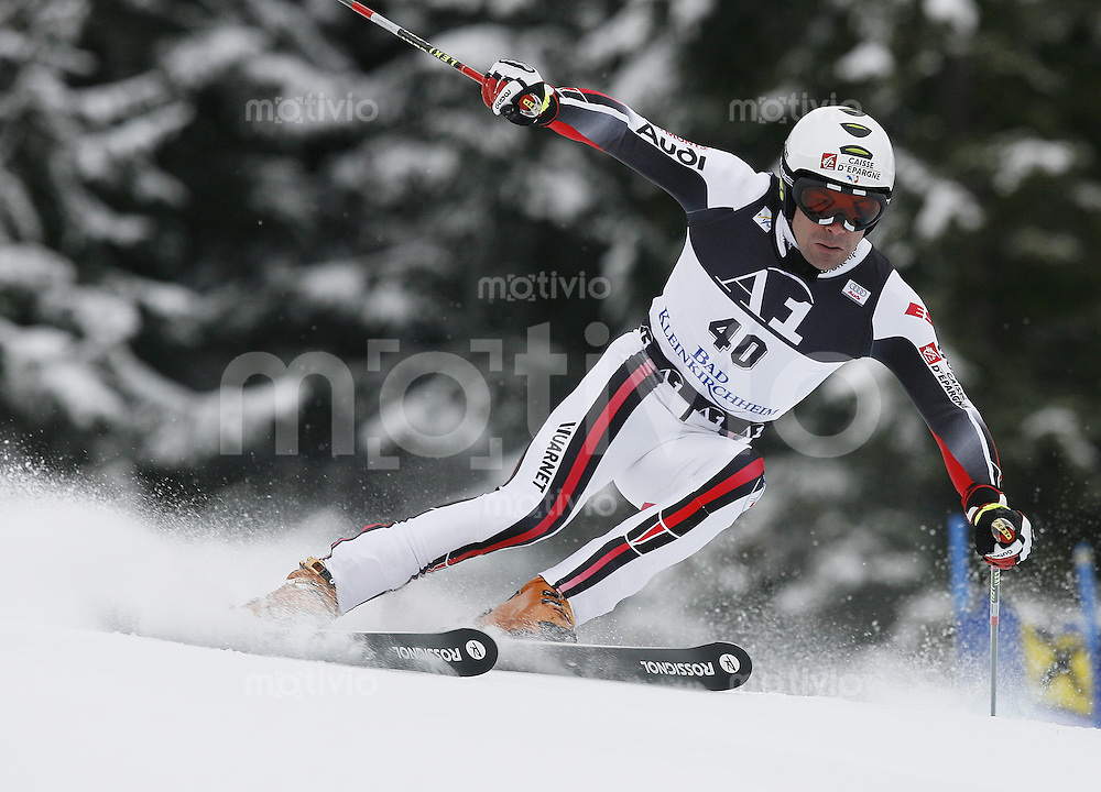 Ski Alpin Weltcup Riesenslalom in Bad Kleinkirchheim , AUT 08.12.07  Gauthier de Tessieres (FRA)