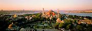 TURKEY, ISTANBUL, BYZANTINE Aya Sofya (Santa Sophia), skyline