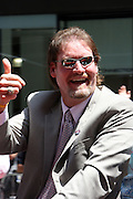 Wade Boggs  at the Major League Baseball All-Stars and 49 Hall of Famers ride up Sixth Avenue in All Star-Game Red Carpet Parade Presented by Chevy on July 15, 2008