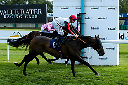 Filament of Gold ridden by Kieran O'Neill trained by Roy Brotherton wins The Parryholdmeclose Wedding Handicap Stakes (Class 6) (Value Rater Racing Club Bath Summer Strayers' Series Qualifier) - Mandatory by-line: Robbie Stephenson/JMP - 04/09/2019 - PR - Bath Racecourse - Bath, England - Bath Races