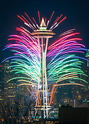 Seattle New Year's Eve Fireworks
