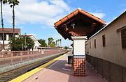 Platform at Santa Ana Train Station