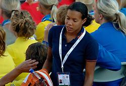06-08-2006 ATLETIEK: EUROPEES KAMPIOENSSCHAP: GOTHENBORG <br /> De openingsceremonie van de 29th European Championships Athletics werd op de Gotaplatsen gehouden / Rianna Galiart<br /> ©2006-WWW.FOTOHOOGENDOORN.NL