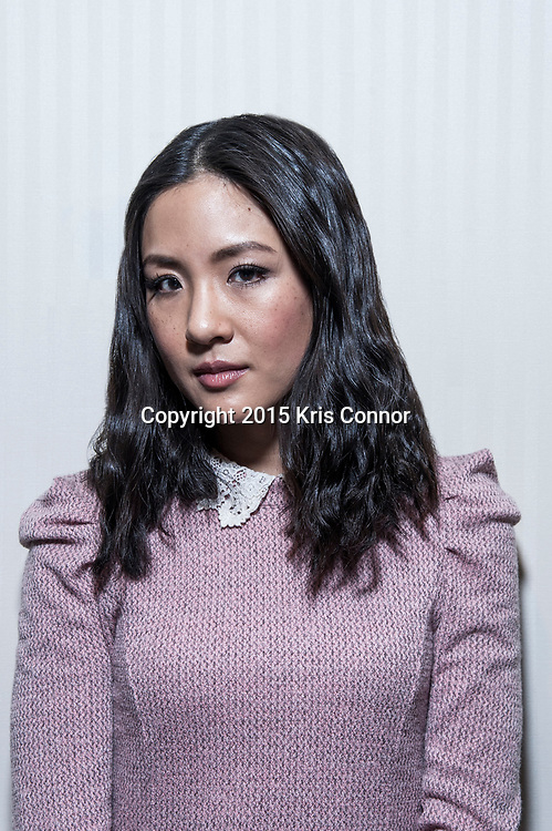 Actress Constance Wu poses for a portrait at the National Press Club on January 21, 2014 in Washington, DC.