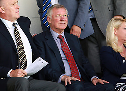 Sir Alex Ferguson in the stands to watch sons Darren Ferguson's Peterborough United - Photo mandatory by-line: Joe Dent/JMP - Mobile: 07966 386802 09/08/2014 - SPORT - FOOTBALL - Rochdale - Spotland Stadium - Rochdale AFC v Peterborough United - Sky Bet League One - First game of the season
