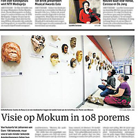 Tekst en beeld zijn auteursrechtelijk beschermd en het is dan ook verboden zonder toestemming van auteur, fotograaf en/of uitgever iets hiervan te publiceren. <br /> <br /> Parool 1 november 2013: Porem van Mokum