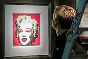 An Andy Warhol Marilyn Monroe on the Haynes Fine Art of Brodway stand - Winter Olympia Art & Antiques Fair- in its 25th year the fair plays host to 22,000 visitors who come to see over 30,000 pieces for sale from the 120 hand-picked dealers valued frpom £100-£1m.  The fair runs from 2-8 November 2015, opening with the Collector's Preview Reception on 2 November at 5pm..