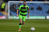 Forest Green Rovers Carl Winchester(7) runs forward during the The FA Cup 1st round match between Oxford United and Forest Green Rovers at the Kassam Stadium, Oxford, England on 10 November 2018.