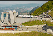 SWITZERLAND: MONTE GENEROSO ON THE 1ST OF AUGUST NATIONAL CELEBREATION