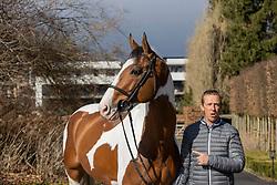 Hemeryck Rik, BEL, Ulyss Morinda<br /> Haras de Lauzelle - Wavre 2021<br /> © Hippo Foto - Dirk Caremans<br /> 15/03/2021