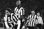 Giocatori della Juve duranteRoma vs Juventus. Stadio Olimpico. 16 febbraio 2013. Christian Mantuano / Oneshot