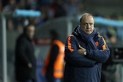 coach Dick Advocaat of Holland during the FIFA World Cup 2018 qualifying match between Belarus and Netherlands on October 07, 2017 at Borisov Arena in Borisov,  Belarus