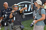 29 MAR15 Award winning photo crew Gabe Roux and Don Morelli during Sunday's Final Round of The KIA Classic at Aviara Golf Club in LaCosta, California. (photo credit : kenneth e. dennis/kendennisphoto.com)