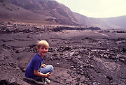Kilauea Iki Crater, Hawaii Volcanoes national Park, Island of Hawaii<br />