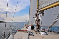 Sailing in Stockholm's archipelago