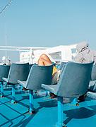 GREECE, on the ferry tpo Aegina island