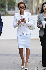 Mel B takes a break from court with her lawyer - 8 Sep 2017