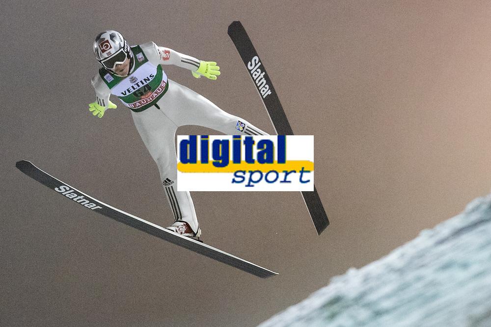 Hopp<br /> FIS World Cup<br /> Ruka / Kuusamo Finland<br /> November 2017<br /> Foto: Gepa/Digitalsport<br /> NORWAY ONLY<br /> <br /> KUUSAMO,FINLAND,24.NOV.17 - NORDIC SKIING, NORDIC COMBINED, SKI JUMPING - FIS World Cup, Ruka Nordic Opening, large hill, qualification. Image shows Robert Johansson (NOR). Photo: GEPA pictures/ Matic Klansek