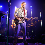 WASHINGTON, DC - August 2nd, 2011 - Justin Vernon of Bon Iver performs at the 9:30 Club. The group's self-titled sophomore album was released in June and reached #2 in the Billboard 200.   (Photo by Kyle Gustafson/FTWP)