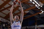 Gaffeney Tony<br /> Brindisi - Milano<br /> Basket Serie A<br /> LBA 2018/2019<br /> Brindisi, 20/01/2019<br /> Foto Giulia Pesino/Ciamillo