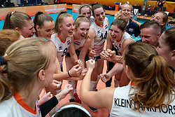 Netherlands celebrate 3-2 win against USA during United States - Netherlands, FIVB U20 Women's World Championship on July 15, 2021 in Rotterdam