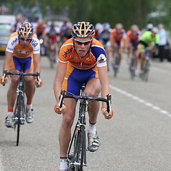 Olympia Tour 2007 was het gevecht om de seconden tussen Martijn Maaskant en Lars Boom.