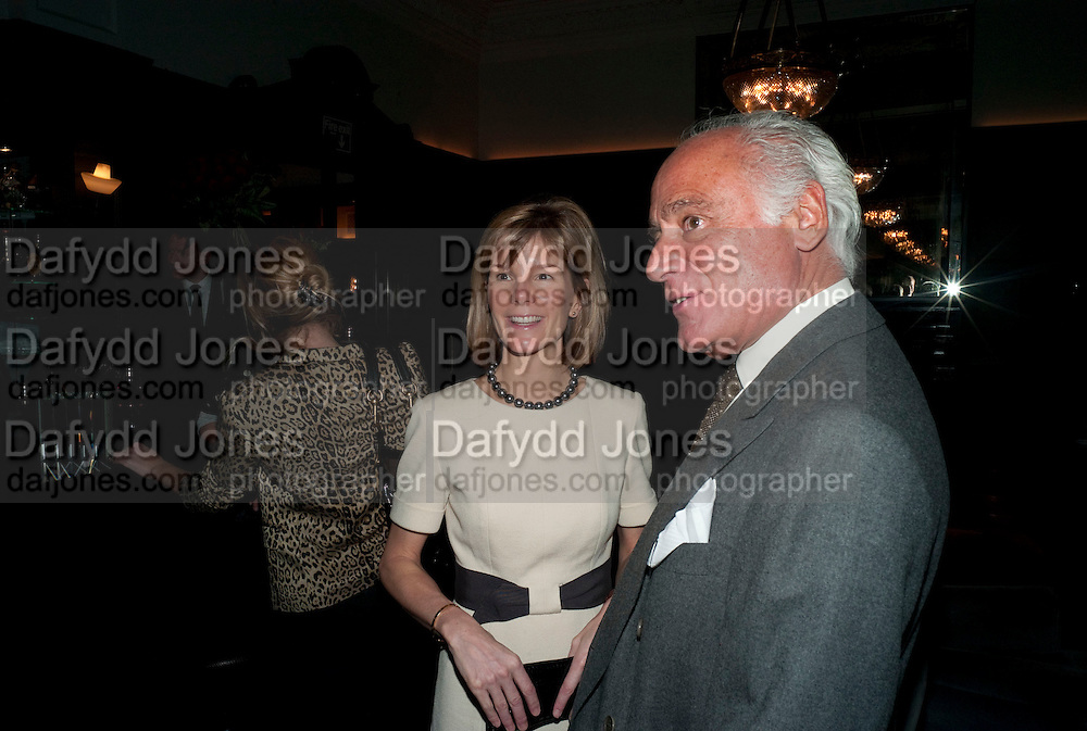 ANNE CARTER; JOHN STEFANIDES, Graydon and Anna Carter host a lunch for Carolina Herrera to celebrate the ipening of her new shop on Mount St. .The Connaught. London. 20 January 2010