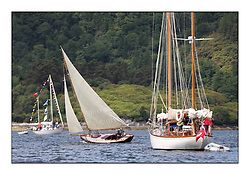 Day three of the Fife Regatta, Cruise up the Kyles of Bute to Tighnabruaich<br /> Tringa, G&H Scharbaum, GER, Gaff Sloop, Wm Fife 3rd, 2010<br /> <br /> * The William Fife designed Yachts return to the birthplace of these historic yachts, the Scotland's pre-eminent yacht designer and builder for the 4th Fife Regatta on the Clyde 28th June–5th July 2013<br /> <br /> More information is available on the website: www.fiferegatta.com