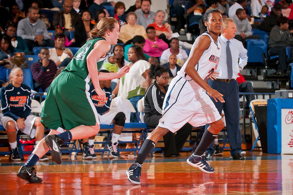 Feb 25, 2012; Morrow, GA, USA; Women's team against GCSU at CSU gym. (Photos by Kevin Liles/kdlphoto.com)