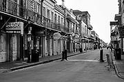 Bourbon Street empty