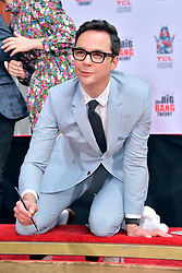 May 1, 2019 - Los Angeles, Kalifornien, USA - Jim Parsons bei der Handprints Ceremony am TCL Chinese Theatre Hollywood. Los Angeles, 01.05.2019 (Credit Image: © Future-Image via ZUMA Press)