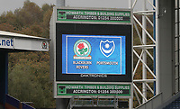 BLACKBURN, ENGLAND - OCTOBER 21: Blackburn Rovers during the Sky Bet League One match between Blackburn Rovers and Portsmouth at Ewood Park on October 21, 2017 in Blackburn, England. (Photo by Rachel Holborn - CameraSport via Getty Images)