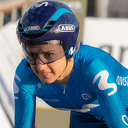 11-03-2021: Wielrennen: Healthy Ageing Tour: Lauwersoog. <br />Barbara Guarischi
