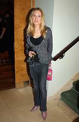 The HON.IMOGEN LLOYD WEBBER daughter of Andrew Lloyd Webber at the opening party of Pengelley's, 164 Sloane Street, London SW1 on 22nd February 2005.<br /><br />NON EXCLUSIVE - WORLD RIGHTS