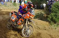 Motor<br /> Paris Dakar 2004<br /> Foto: Digitalsport<br /> Norway Only<br /> <br /> NARBONNE - CASTELLON<br /> MATTEO GRAZIANI / KTM 450