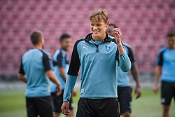July 23, 2018 - Cluj, Romania - i180723 Hugo Andersson of MalmÅ¡ FF during a practice ahead the UEFA Champions League qualifying match between Cluj and MalmÅ¡ FF on July 23, 2018 in Cluj..Photo: Ludvig Thunman / BILDBYRN / kod LT / 35508 (Credit Image: © Ludvig Thunman/Bildbyran via ZUMA Press)