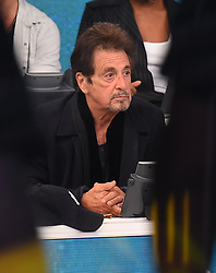 "Celebrities at the ""Hand to hand"" telethon in Times square, New York City. 12 Sep 2017 Pictured: Al Pacino. Photo credit: MEGA TheMegaAgency.com +1 888 505 6342"