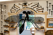 Flying sculpture. Hammer Museum, Haines, Alaska, USA