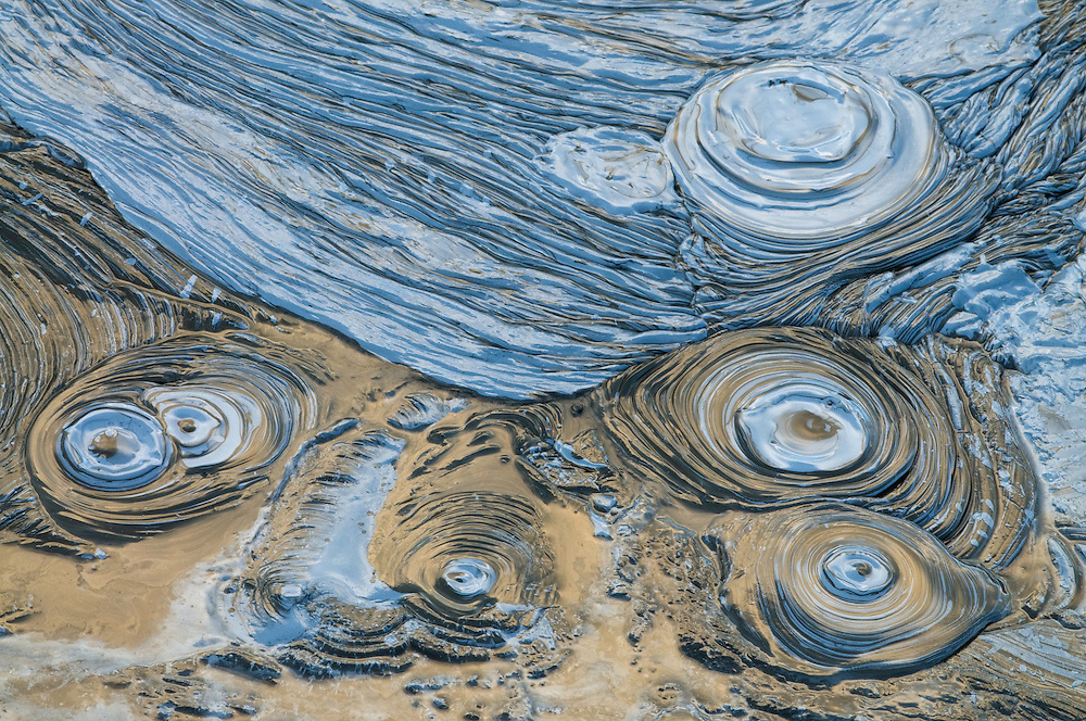 28.07.2008.Boiling mudpool, volcanic activity.Hverir.Námafjall, Iceland